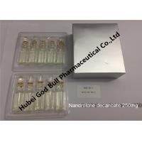 Wholesale Nandrolone decanoate 400mg/ml 1ml/vial genuis quality steroid injection from china suppliers