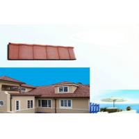 Wholesale Polished eco Corrugated Double Roman Roof Tiles For house Slop Roofing from china suppliers