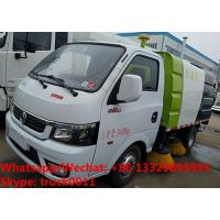 Wholesale 2018s cheaper price gasoline China made smallest street sweeping vehicle for sale, road sweeper cleaning truck from china suppliers