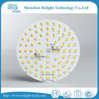 Wholesale D88mm Round Pcb Led Downlight / Ceiling Light Module 6000k 100-130l/W from china suppliers