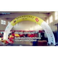 Wholesale 10m Outdoor Inflatable Advertising Arch with Blower For Outdoor Advertisement from china suppliers