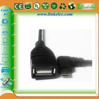 Wholesale micro angled usb otg cable from china suppliers