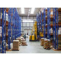 Wholesale 5 Beam Level Very Narrow Aisle Racking 16.5 FT Height Palletised Warehouse System from china suppliers