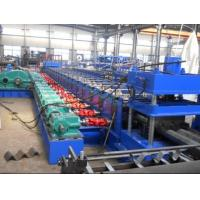 Wholesale High Speed Three Waves Guardrail Roll Forming Machine with 5.5Kw Hydraulic  power cutting from china suppliers