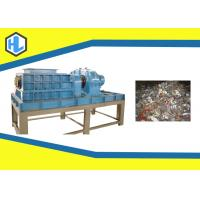 Quality 15mm Knife Thickness Electronic Scrap Shredder 37kw Power 600*600mm Hopper Size for sale