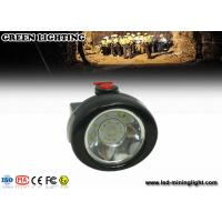 Wholesale 10000 Lux hight brightness coal miners headlamp 3.7V 500mA Li - ion battery from china suppliers