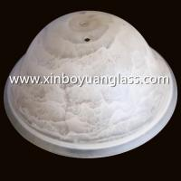 Wholesale Centrifugal Glass Spun Glass Hand Printed Glass Lamp Shade from china suppliers