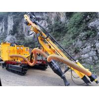 Quality JK590 Quarry / mining / construction down the hole drilling rig , 40m drilling capacity for sale