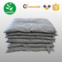 Quality ISO 9000:2008 100% PP grey industrial universal Spill Control Absorbent pillow for sale