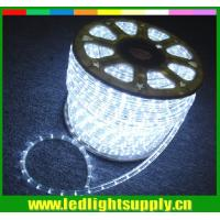Wholesale super bright led lights cool clear white  2 wire rope christmas lights from china suppliers
