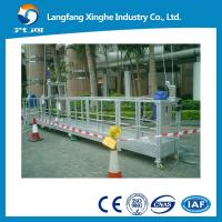 Wholesale Aluminum temporary gondola ZLP800 / suspended cradle ZLP630 / high rise building cleaning machine from china suppliers