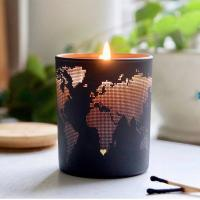 Wholesale Fashion Creative Design Soy Scented Jar Candle With Metal Lid Home Decoration from china suppliers