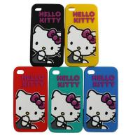Wholesale Hello Ketty Pattern Apple iPhone / Cell Phone Silicone Cases For Girls from china suppliers