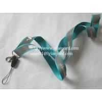 Wholesale Custom Promotion Silk Screen Logo Reflecitve Lanyard from china suppliers