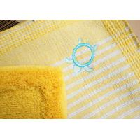 Wholesale Yellow Stripe Toilet Floor Mat from china suppliers
