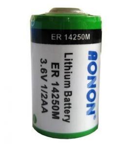 Quality AONON 1/2AA ER14250 ER14250M Li/Socl2 battery,Bobbin,Spiral type for sale