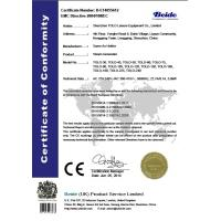 Shenzhen TOLO Leisure Equipment Co.,LTD Certifications