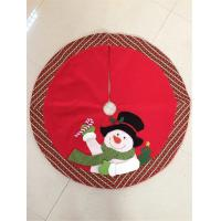 Wholesale Classic Red Christmas Reindeer Tree Skirt from china suppliers