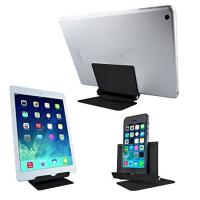 Wholesale Black Rotating Lazy Aluminum Cell Phone Stand , Tablet Pc Metal Phone Stand from china suppliers