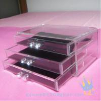 Wholesale cosmetic organizer acrylic from china suppliers