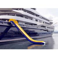 Wholesale Inflatable Water Floating Games , Inflatable Slide For Yacht Sports from china suppliers