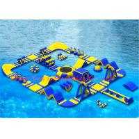 Buy cheap 40 x 40 m 0.9mm PVC Huge Floating Inflatable Water Park for Water Sports from wholesalers