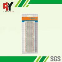 Wholesale Transparent Soldered Breadboard Easily Inserted For Building / Testing Circuits from china suppliers