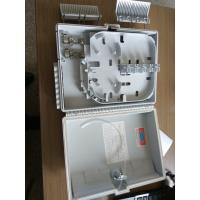 Quality FTTH wall mounted Fiber Optic Distribution Box with 1x8  lgx splitter for sale