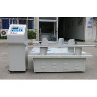 Buy cheap Package transport simulation Vibration Test equipment for Carton CE Computer Control from wholesalers
