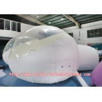 Wholesale Transparent Dome Inflatable Bubble Room Clear Tent With Custom Logo Printing from china suppliers