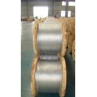Wholesale Low / Middle Carbon Messenger Wire Strand 5 16 Inch With ASTM A 475 EHS from china suppliers