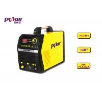 Wholesale Yellow Home Plasma Cutter / Hand Plasma Cutter With 240V No Load Voltage from china suppliers