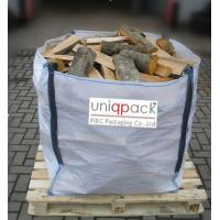 Wholesale Firewood waterproof bulk material bags , 4 panel full opened top big bags from china suppliers