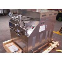 Wholesale Industrial New Condition Processing Line Type milk homogenizer Machine 4000 L/H 400 bar from china suppliers