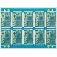 Wholesale 4 Layer Rigid Pcb Board FR4 base , Hasl , lead free Surface Treatment from china suppliers