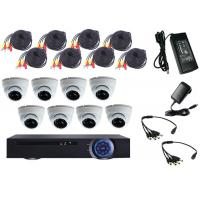 Wholesale Night Vison House Security DVR CCTV Kit , CCTV Home Security Kits Linux OS from china suppliers