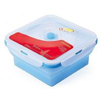 Wholesale FDA LFGB silicone lunch box , silicone folding bowl, microwave safe food container to keep food fresh from china suppliers
