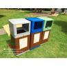 Buy cheap WPCDustbin,WPC garbage can,trashbin 415x365x900mm(OLDA-7301) from wholesalers