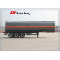 Wholesale 35 cbm asphalt tanker trailer bitumen tank semi trailer with Jost king pin from china suppliers
