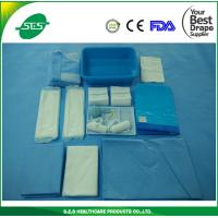 Wholesale Disposable sterile OB drape pack/delivery drape pack/baby born drape pack from china suppliers