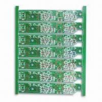 Wholesale 4-layered PCB with Minimum Trace Width of 0.25mm and RoHS Compliant from china suppliers