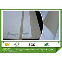 Wholesale 6% - 8% Moisture Smooth Duplex Paper Board White Coated Grey Back Offset Printing from china suppliers