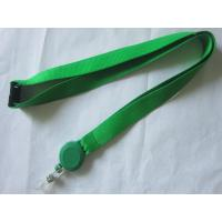 China Business Card Holder Polyester Custom Pull Reel Lanyard on sale