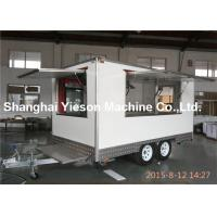 Wholesale Pizza Food Concession Trailers Stainless Steel Coffee Cart Multifunction from china suppliers