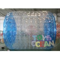 Wholesale Professional Transparent Inflatable Zorb Ball / Zorb Roller For 2 - 4 Player from china suppliers