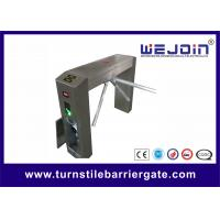 Wholesale 220V Automated Waist High Access Control Turnstile Gate With Rotation from china suppliers