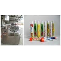 Wholesale Auto Alu Filling Sealing Machine For Paste , Tube Sealer Machine from china suppliers