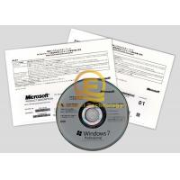 Wholesale Microsoft Original Computer System Softwares , Windows 7 Professional 64 Bit Retail DVD / CD Media from china suppliers