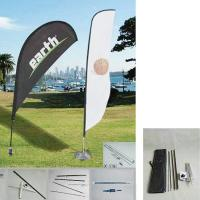 Wholesale Aluminum pole flying banner/ Promotion Feather Flag and teardrop from china suppliers