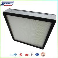 Wholesale Clean Room Air System Aluminium Cassette Filter Hepa 0.3 Micron from china suppliers